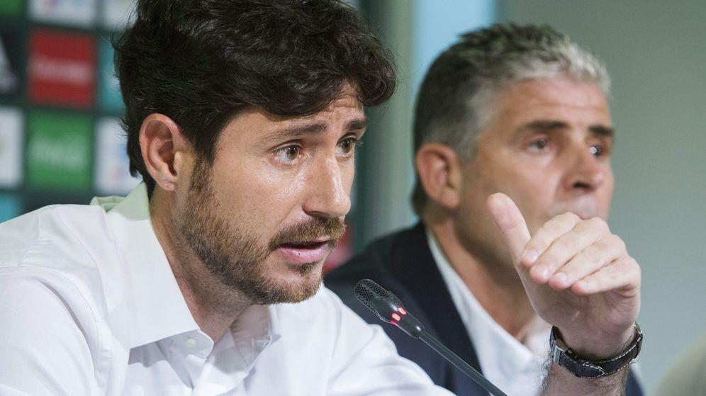 El Málaga CF suspende de sus funciones a Víctor Sánchez