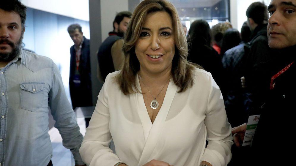 Foto: Susana Díaz en el comité federal del PSOE. (EFE)