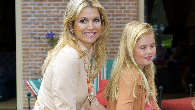 Foto: Máxima de Holanda junto a su hija Amalia, en una imagen de archivo (Gtres)