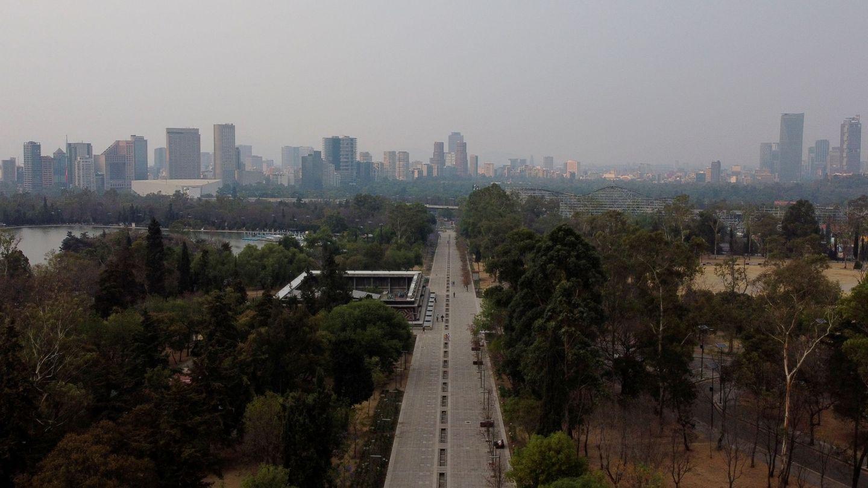 Contaminación en México DF. (Reuters)