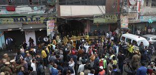 Post de Al menos 42 muertos y más de 64 heridos en un incendio en una fábrica de Nueva Delhi