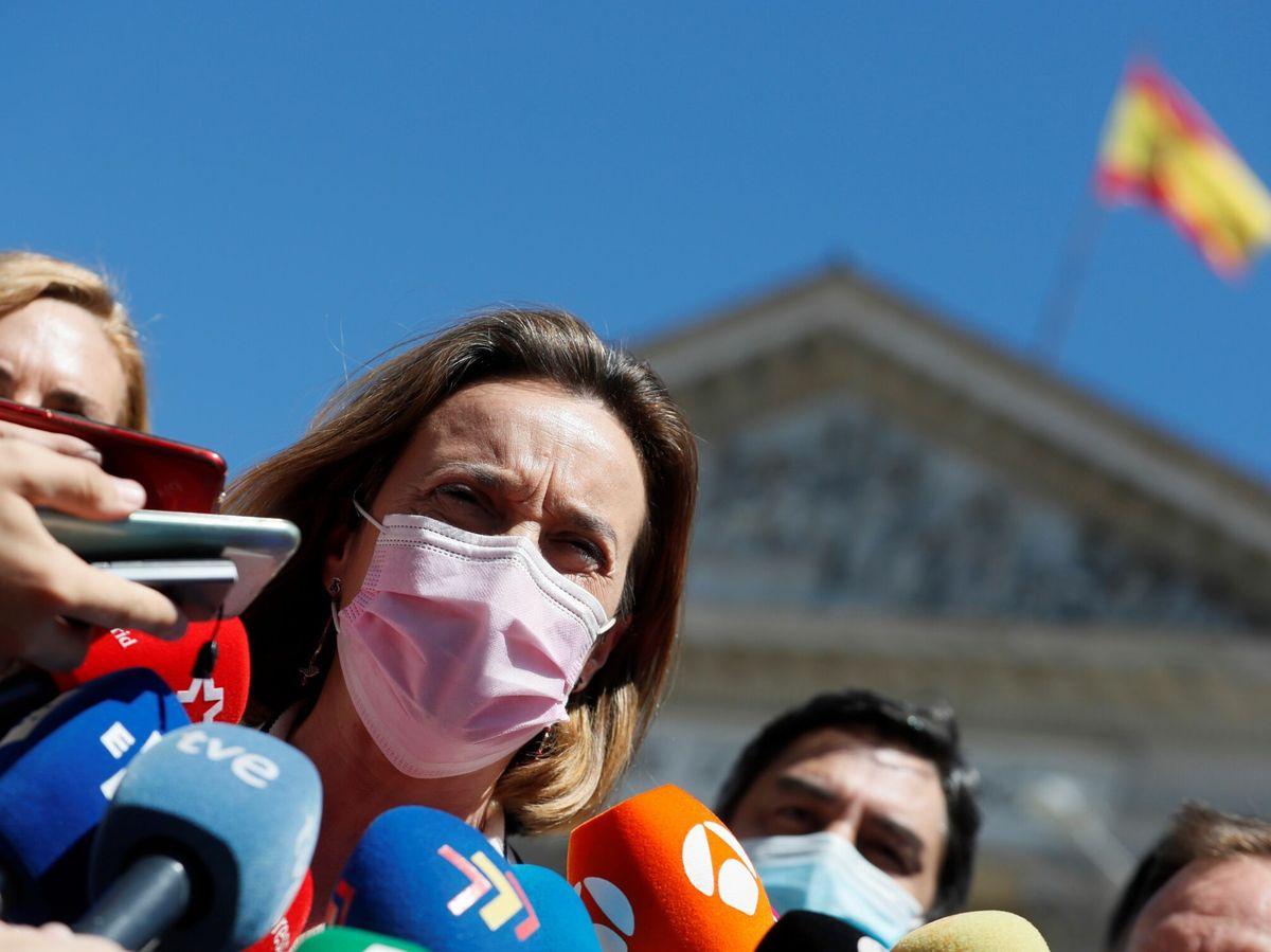 Foto: La portavoz del PP en el Congreso, Cuca Gamarra. (EFE)