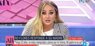 Post de Rocío, destrozada, desmiente a su madre y lanza un llamamiento desesperado