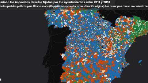 ¿Dónde y qué partidos políticos han subido más los impuestos locales?