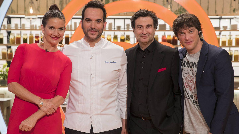 Mario Sandoval, presente en la prueba de eliminación de 'MasterChef'. (TVE)