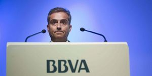 Foto: Alerta en el Tesoro: Santander y BBVA no comprarán más deuda pública española