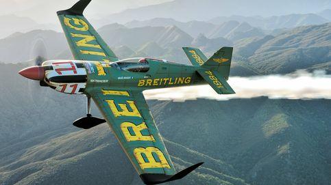 Las acrobacias aéreas del Breitling Racing Team