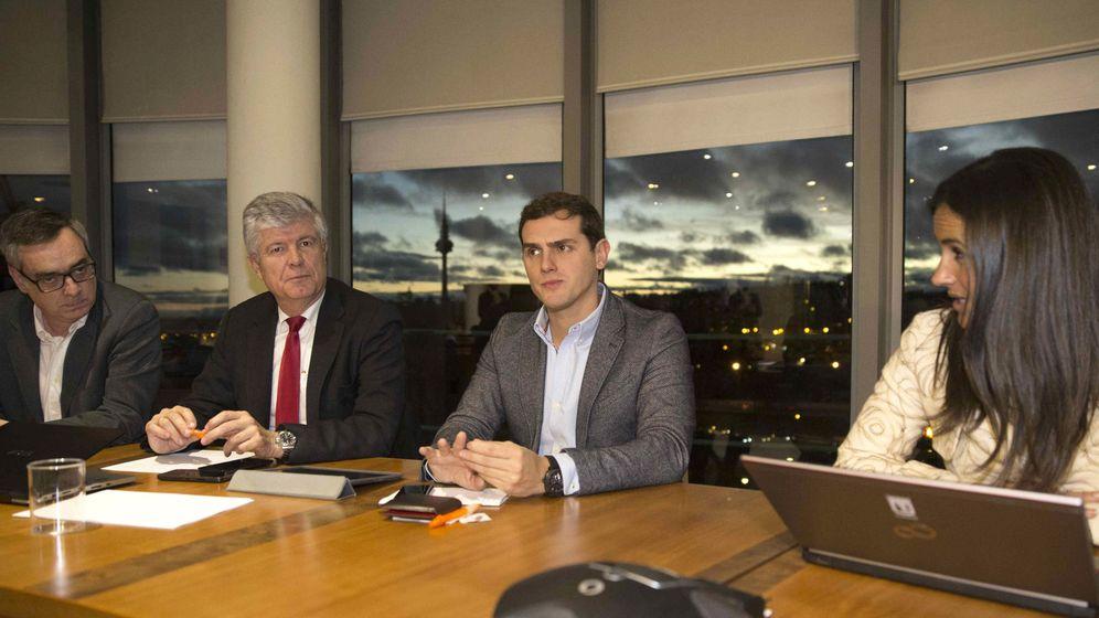 Foto: La ejecutiva nacional de Ciudadanos se reúne en su sede de Madrid. (EFE)