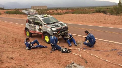Disparate en el Dakar: el camión que fue a ayudar a su coche... con tres días de retraso