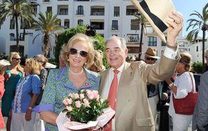El conde Rudi, una estrella en Puerto Banús