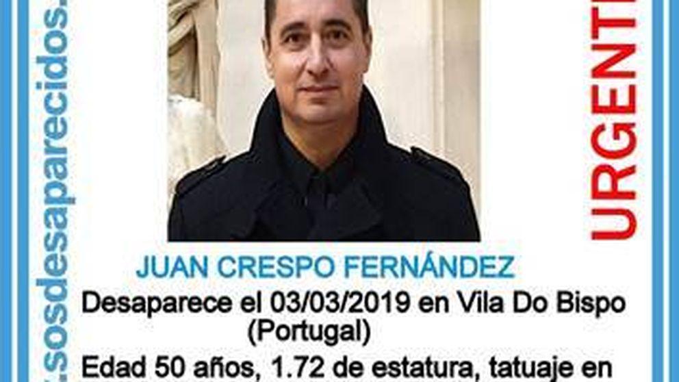 Piden ayuda para hallar a un guardia civil retirado desaparecido en Portugal