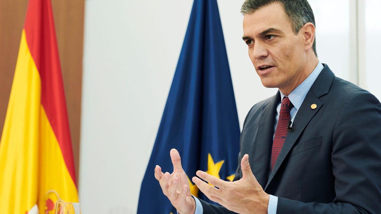 Comparecencia del presidente del Gobierno, Pedro Sánchez. (EFE)