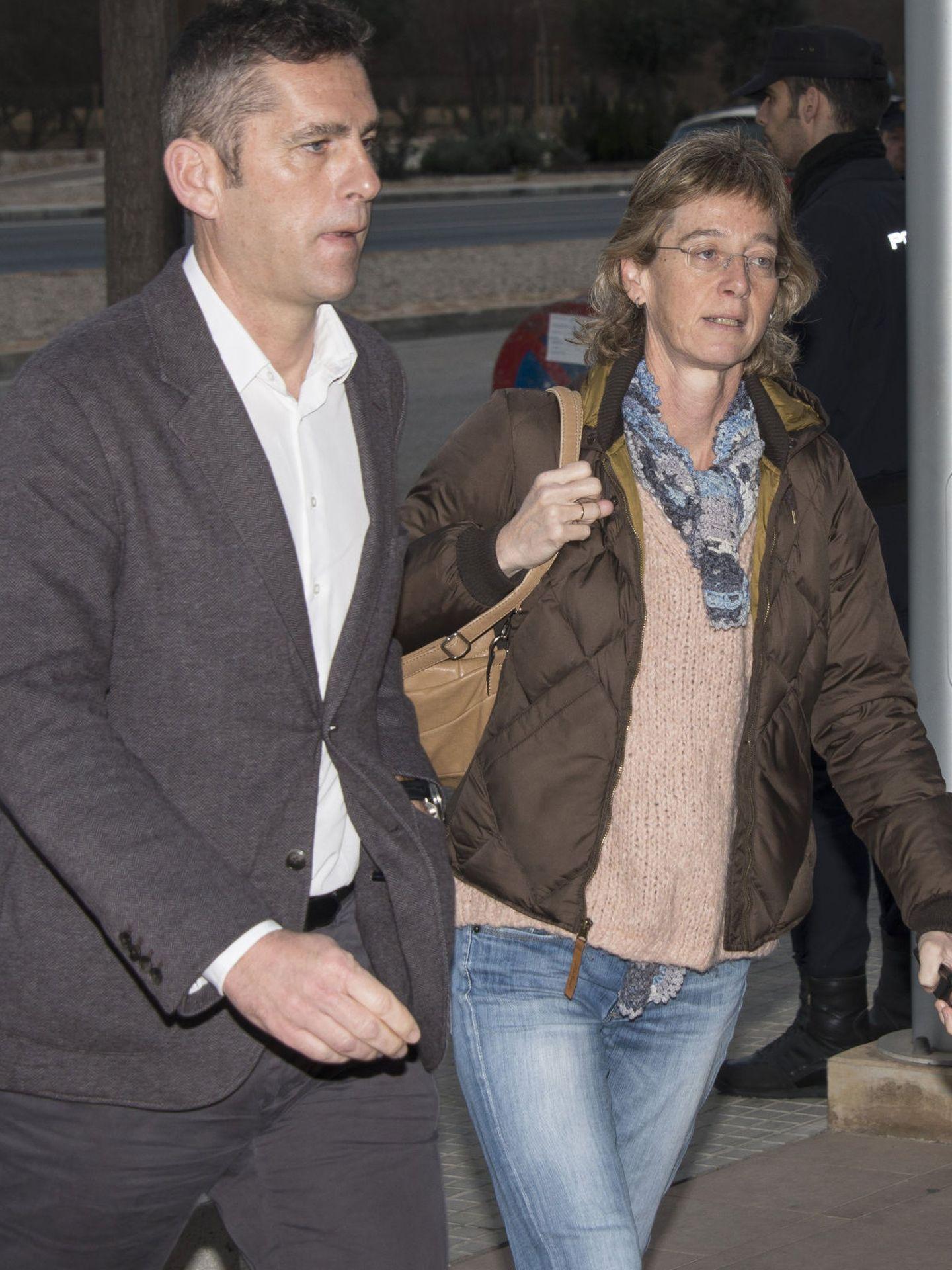 Clara y Mikel Urdangarin, cuñados de la infanta Cristina. (EFE)
