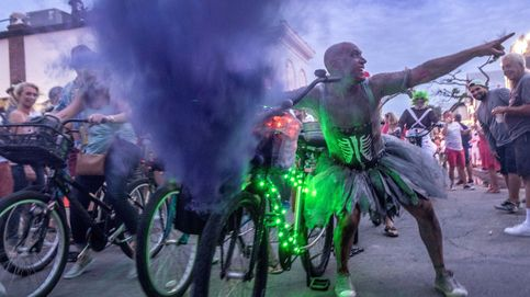 Miles de personas en el 'Fantasy fest'