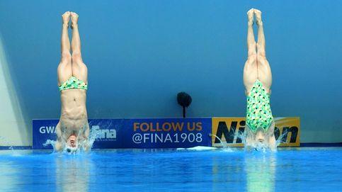 La pareja australiana participa en los Mundiales de Natación 2019