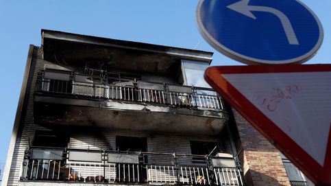 El incendio de Villaverde fue provocado por un hombre al quemarse a lo bonzo