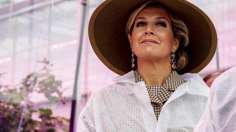 En bata y con sombrero: Máxima de Holanda nunca pierde el estilo