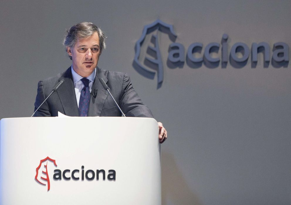 Foto: Fotografía cedida por Acciona de su presidente, José Manuel Entrecanales. (EFE)
