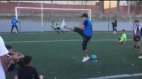 El penalti lanzado de tacón que se ha vuelto viral en Argentina