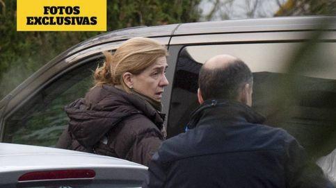 La infanta Cristina y sus cuatro hijos ya están en Vitoria con los Urdangarin