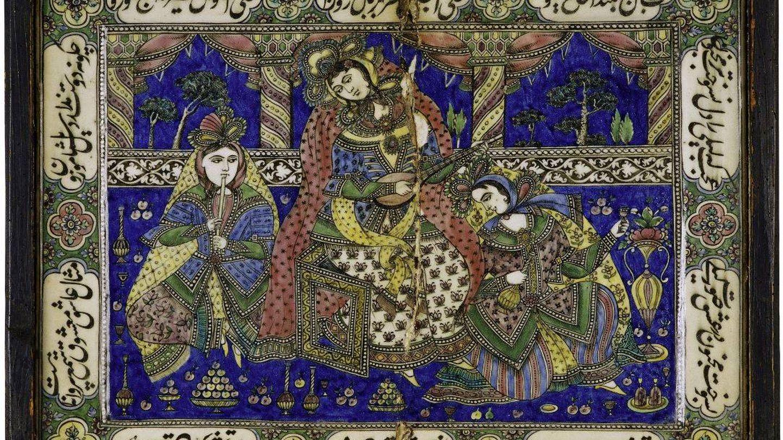 Nasrin encuentra inspiración en los grabados de la antigua Persia