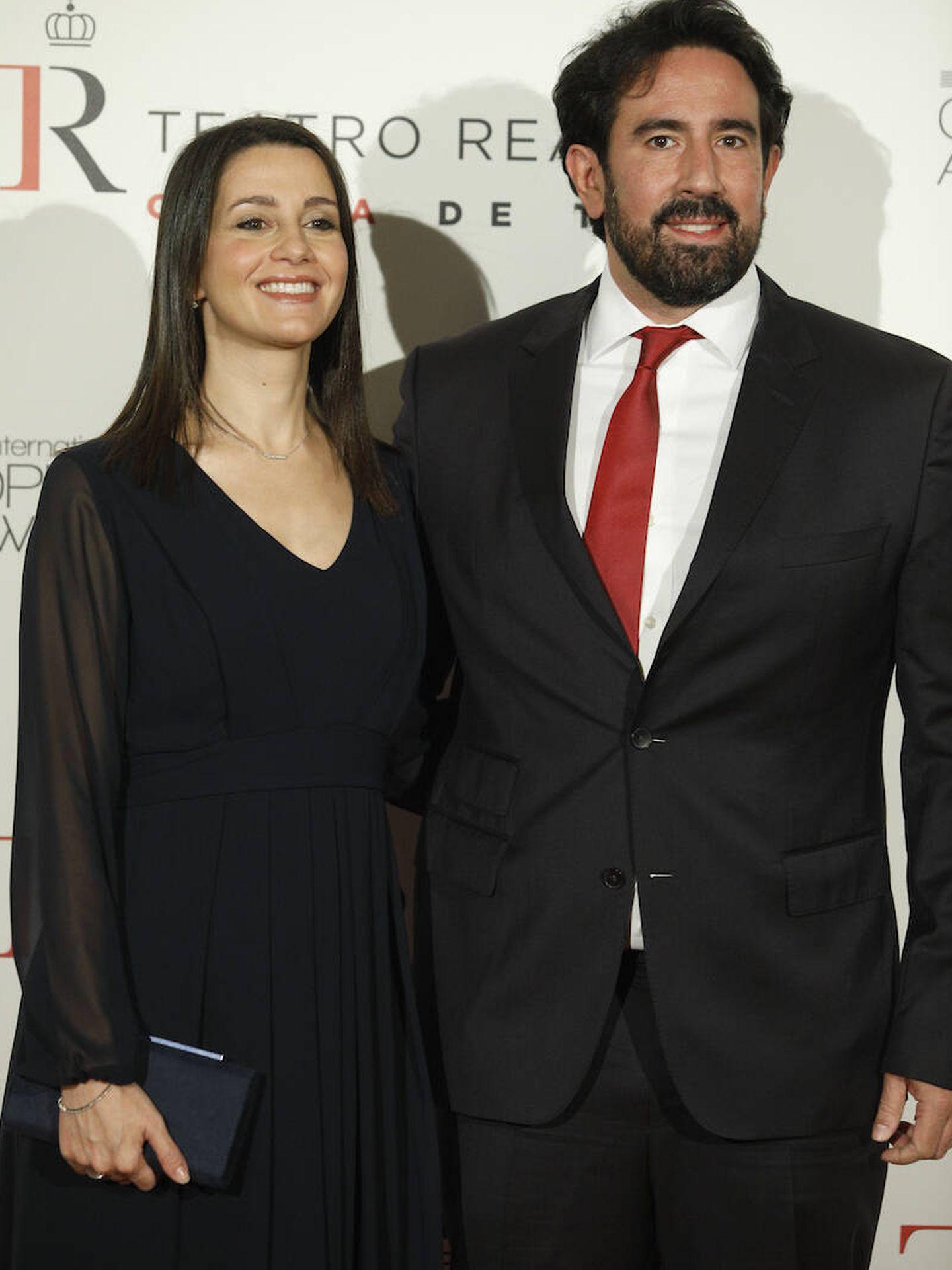 Inés Arrimadas y Xavier Cima. (LP)