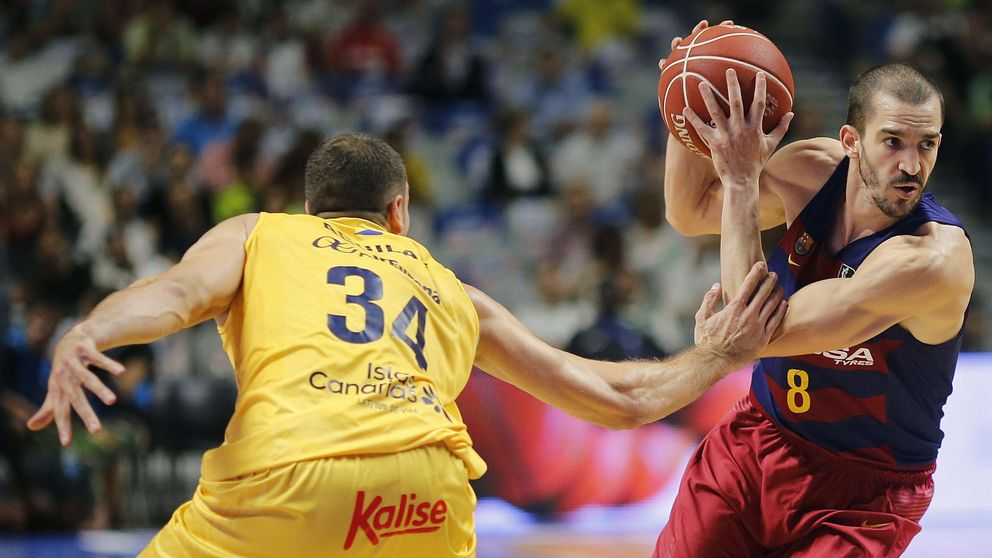 El Barça barre al Gran Canaria para colarse en la final de la Supercopa