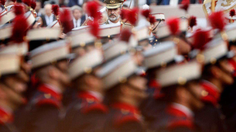 Defensa suspende el desfile del 12 de octubre y planea un acto en el Palacio Real