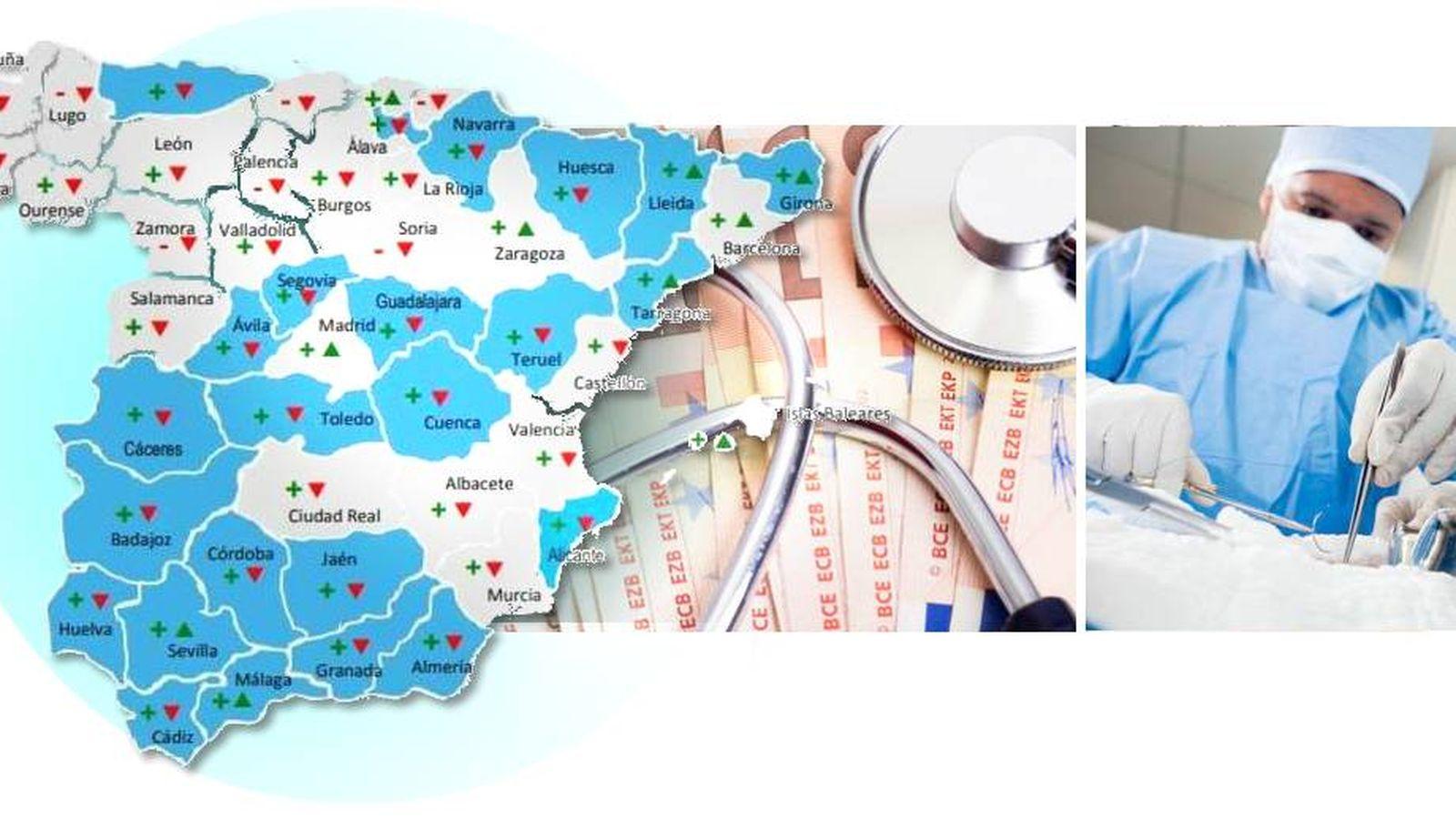 Sanidad pública: Pólizas low cost y recortes: cómo la