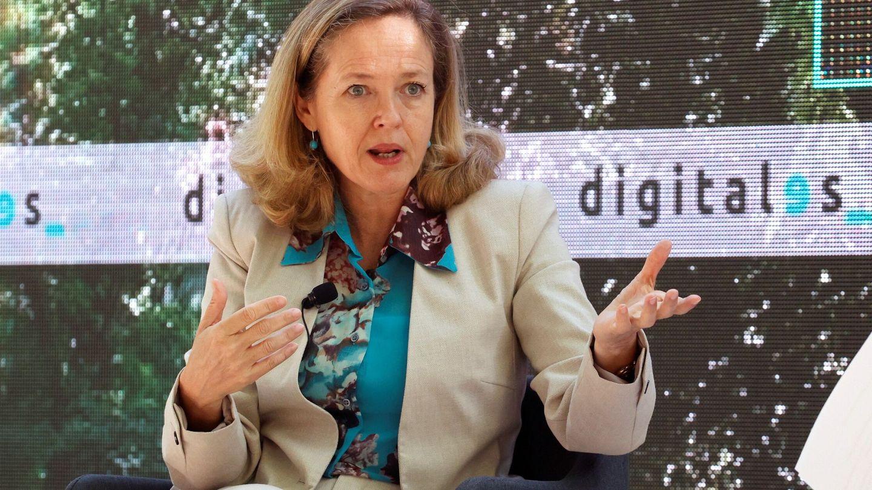 La vicepresidenta segunda y ministra de Economía, Nadia Calviño. (EFE)