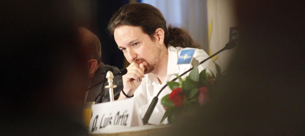 Foto: El líder de Podemos, Pablo Iglesias. (E. Villarino)