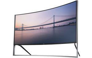 Samsung presenta una TV curva que cuesta como una casa