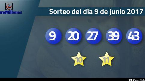 Resultados del sorteo del Euromillones del 9 de junio de 2017