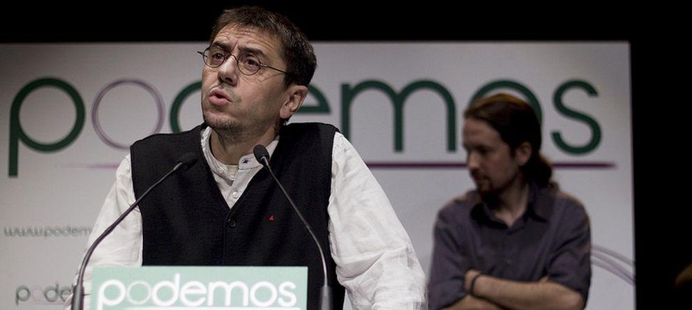 Foto: Juan Carlos Monedero en una imagen de archivo (Podemos)