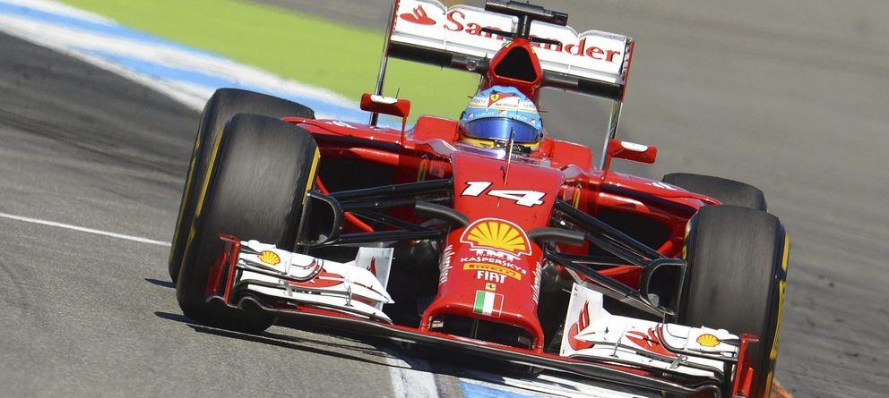 Foto: No pudo mejorar su tercer puesto de los primeros libres, pero Alonso volvió a estar cerca de Mercedes (Reuters).