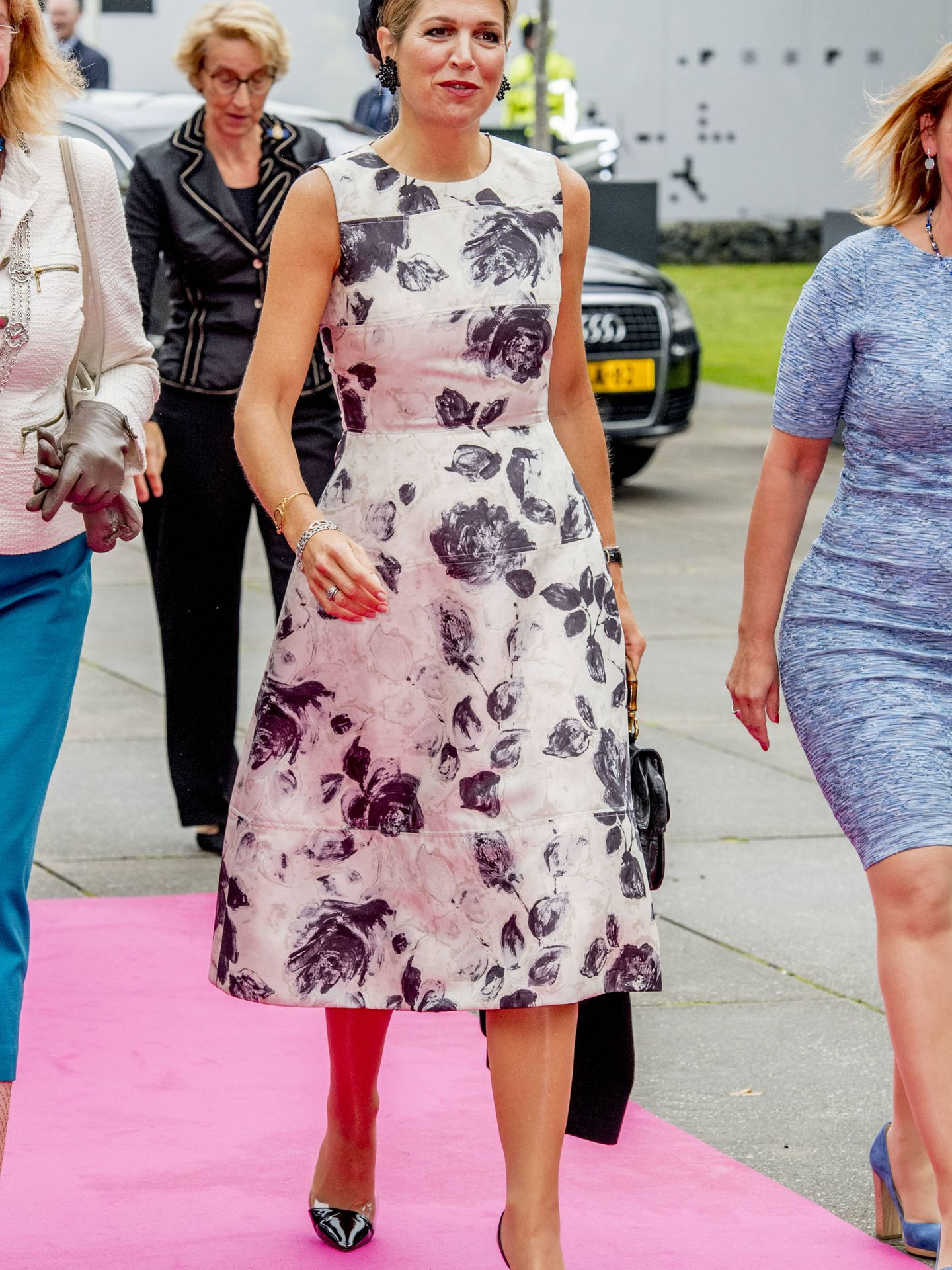 THE HAGUE - Queen Maxima is present at the congress World of Health Care in the Fokker Terminal in The Hague on Thursday 28 September. During this meeting, improving global health care is central.