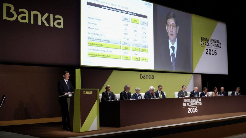 Bankia distribuye su segundo dividendo por 300,71 millones: 194 serán para el Estado