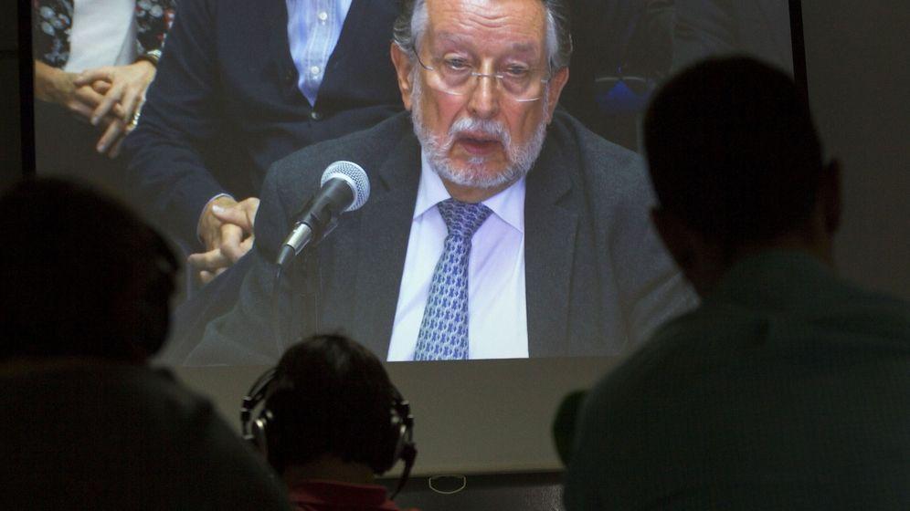 Foto: Alfonso Grau durante el juicio. (Efe)