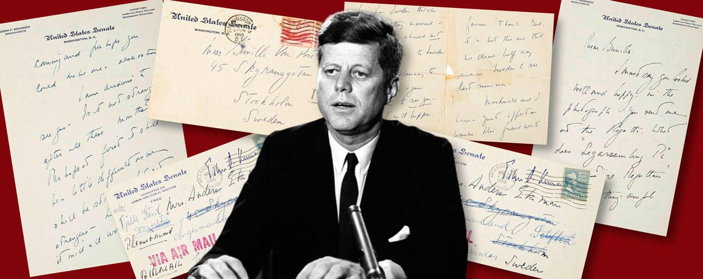 Foto: John F. Kennedy en un fotomontaje realizado en Vanitatis