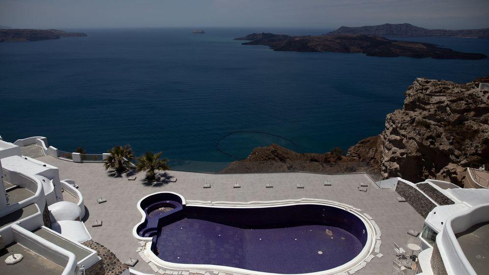 Foto: Hotel vacio por el Covid (EFE)