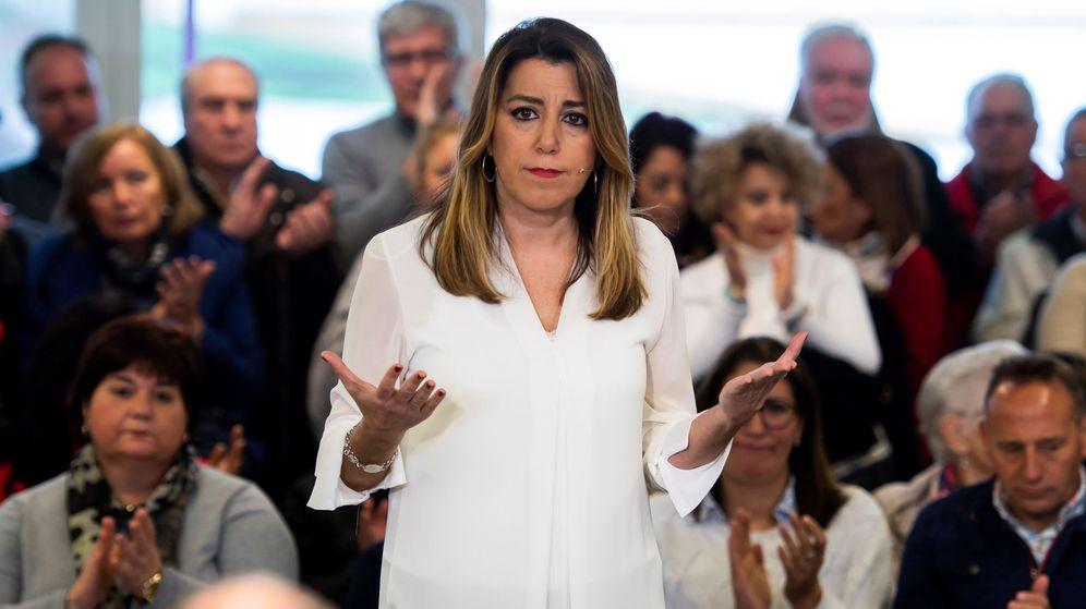 Foto: La secretaria general del PSOE de Andalucía, Susana Díaz. (EFE)