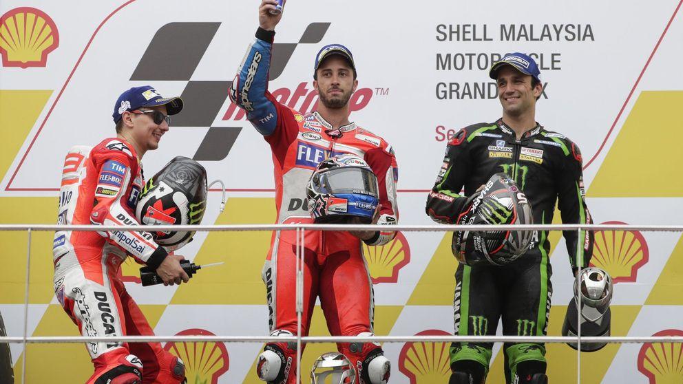 Dovizioso gana en Malasia y se jugará el Mundial con Márquez en Valencia