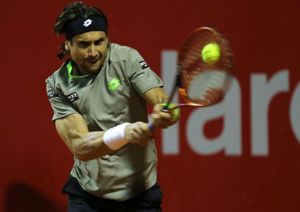 Foto: David Ferrer estará en las semifinales de Buenos Aires.