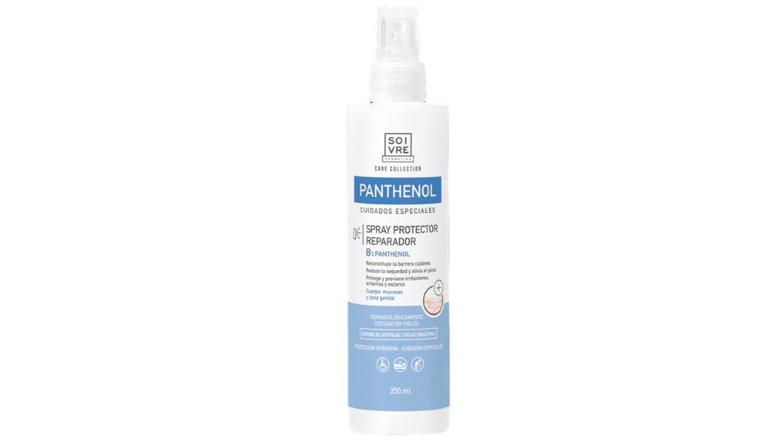 Loción Corporal Panthenol Intensivo en formato spray de Soivre Cosmetics.
