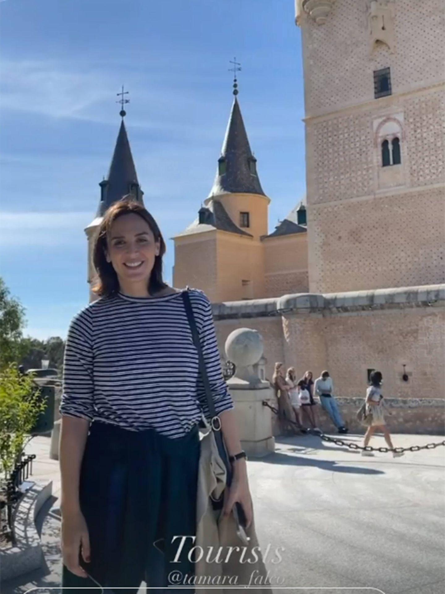 Tamara Falcó e Iñigo Onieva han disfrutado de un viaje en pareja a Segovia. (Instagram @tamara_falco)