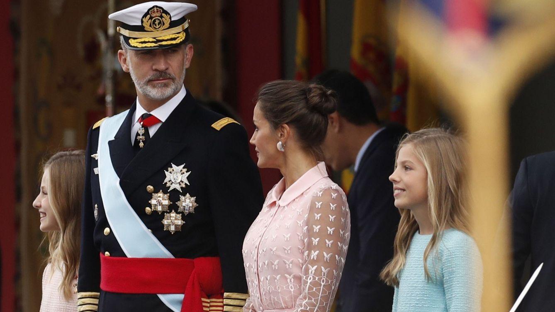 Una fiesta en el Palacio Real con sabor a mera transición