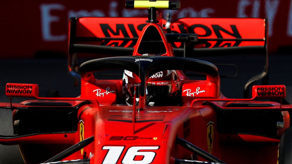 Foto: Ferrari volvió a decepcionar en Azerbaiyán. (EFE)