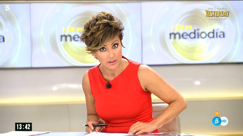 Despido fulminante: Sonsoles Ónega, sin contemplaciones en 'Ya es mediodía'