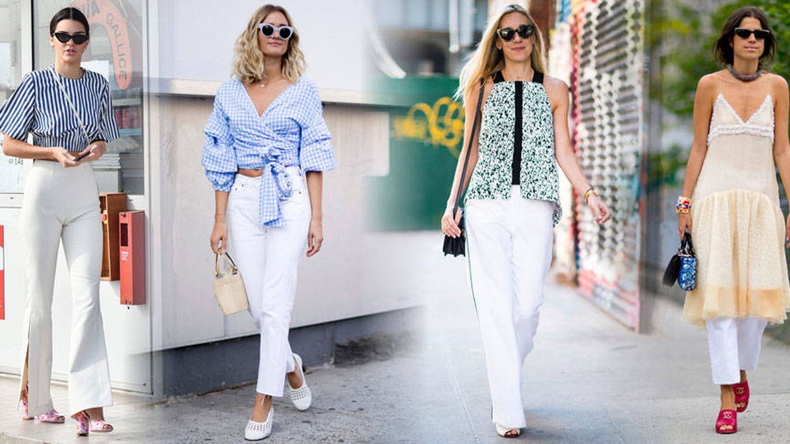Moda Verano Guia Practica Para Llevar Pantalones Blancos En Cualquier Ocasion