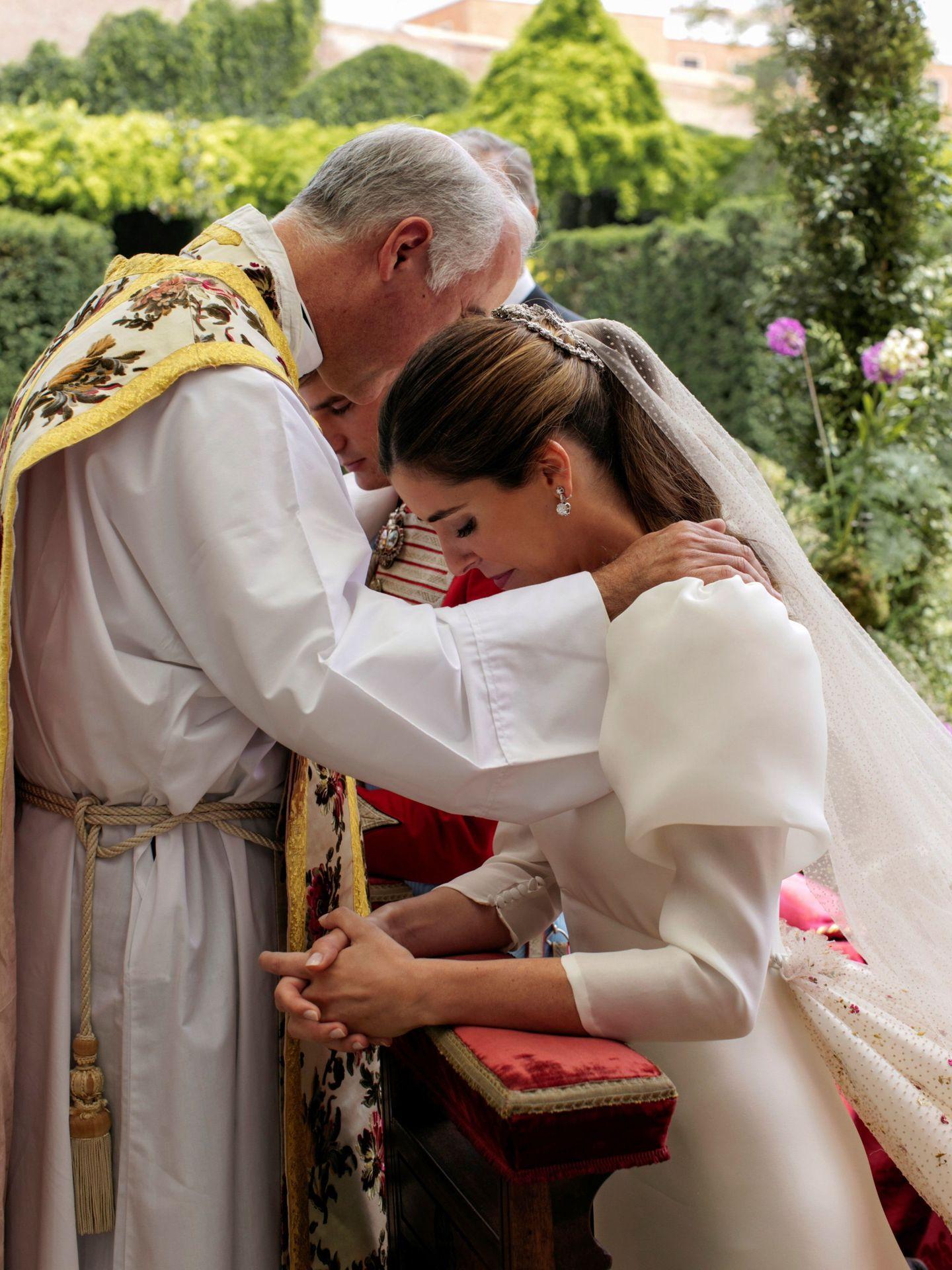 Un momento de la boda de los condes de Osorno. (Alejandra Ortiz Fotografía)